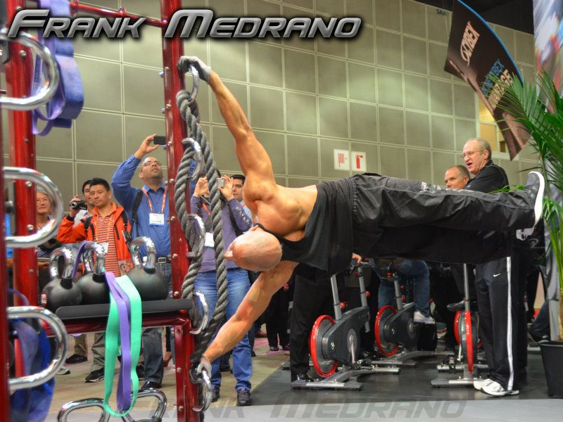 Frank Medrano...what a remarkable piece of machinery he is!