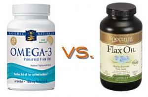 Fish oil and Flax oil can both be utilized to benefit the human body in great ways!