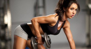 "Female weight training is avoided by many ladies, for fear of getting too ""big and buky."" Stop this lunacy, ladies..."