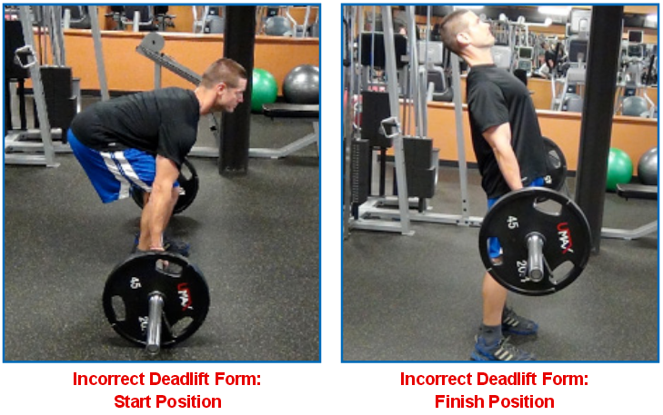 deadlift wrong