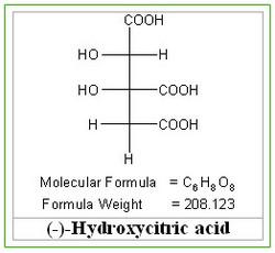 TRC | Details of H825080, CAS#=232281-44-6, Hydroxycitric Acid